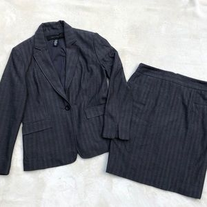 Adorable Pinstripe Skirt Suit Can Sell Separately